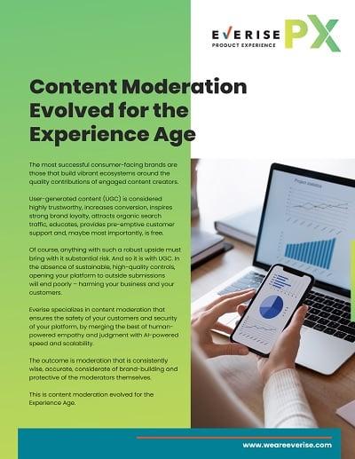 Image Thumbnail Case Study PX Content Moderation