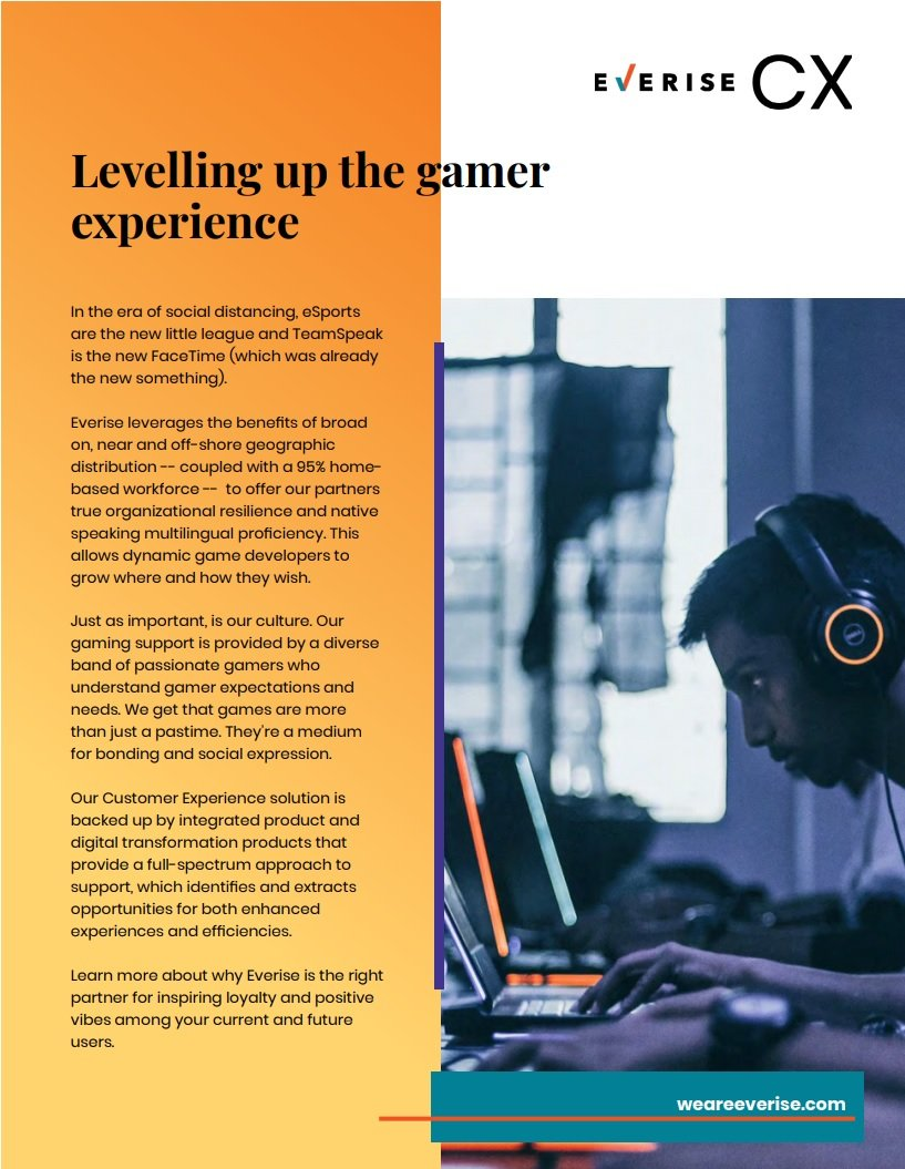 Case Study Cover - Levelling up the gamer experience