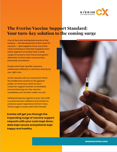 Cover Page - The Everise Vaccines Support Standard