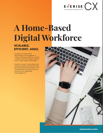 Image Thumbnail Case Study CX Home-Based Digital Workforce