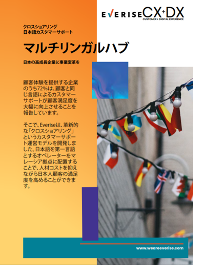 Image Thumbnail Case Study CX Multilingual Hub Japanese