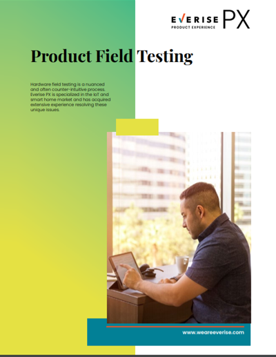 Image Thumbnail Case Study PX Product Field Testing