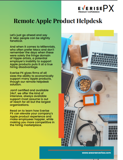Image Thumbnail Case Study PX Remote Apple Product Helpdesk